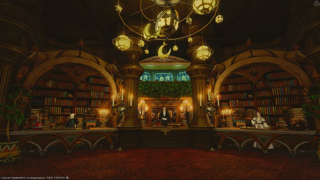 final fantasy xiv housing bibliothek
