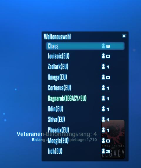 final fantasy xiv server auswahl