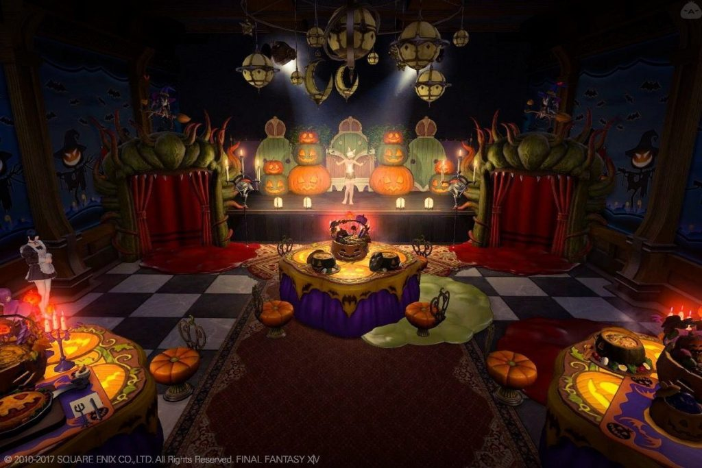 final fantasy xiv housing halloween