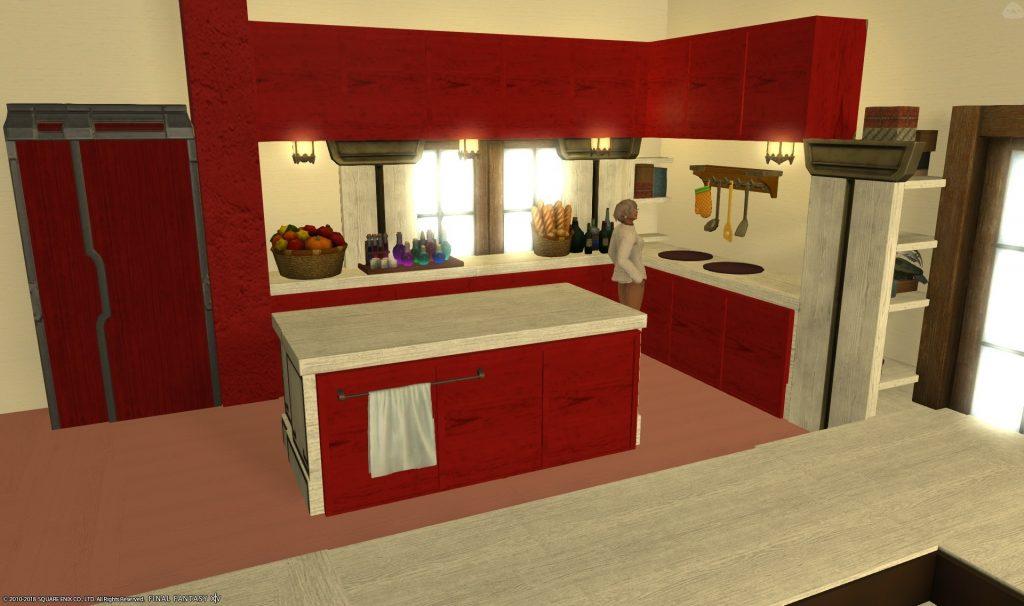 final fantasy xiv housing modern küche