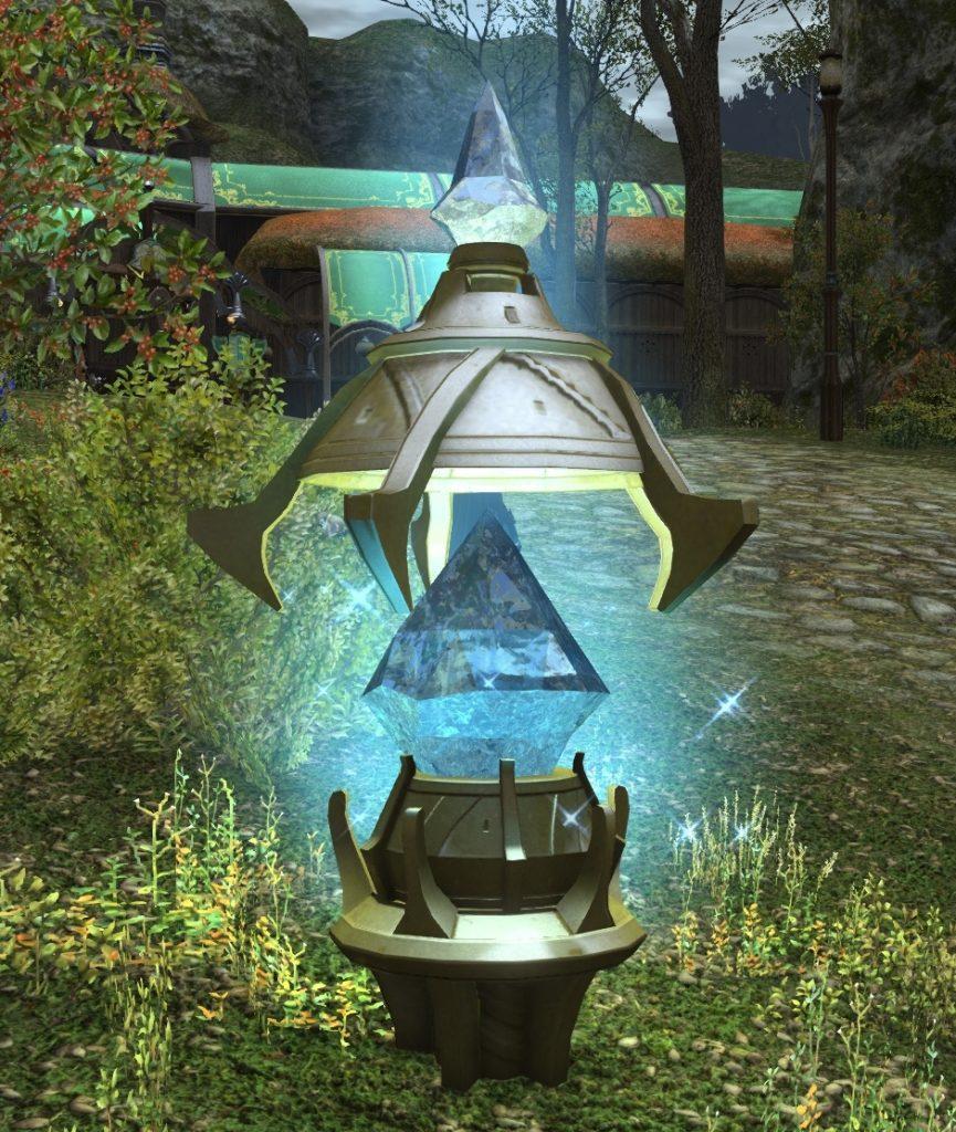 final fantasy XIV stadt teleport kristall