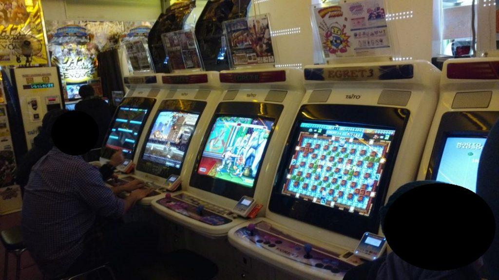 Akihabara Tokyo Japan Retro Automaten im Arcade