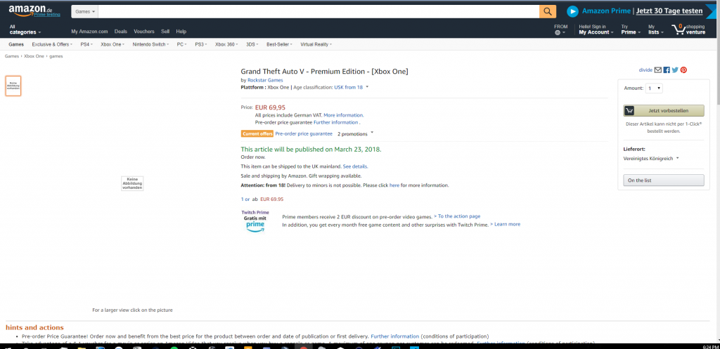 GTA 5 Amazon Leak
