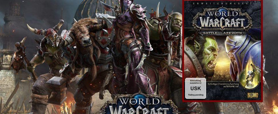 WoW: Battle for Azeroth – Vorverkaufsbox mit Standard Edition ab sofort erhältlich