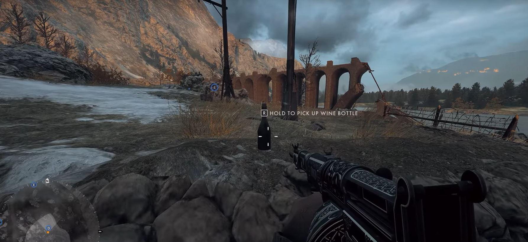 Battlefield 1 Caporetto 2 D-Flagge