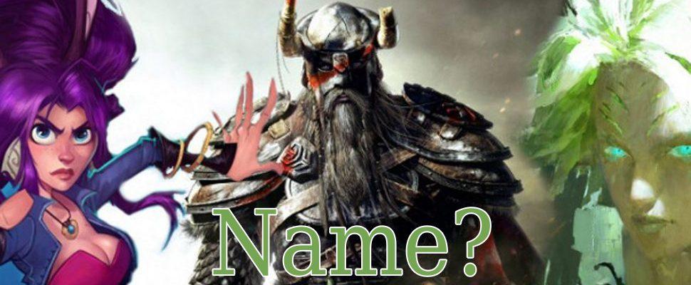 8 Tipps, wie Ihr den perfekten Charakternamen in Online-Spielen erstellt