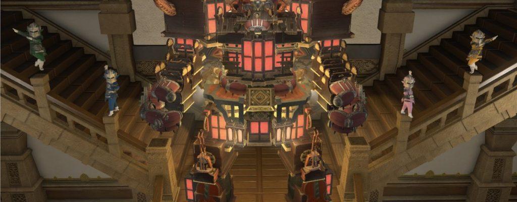 Spieler hat in Final Fantasy XIV einen Riesenroboter aus Möbeln gebaut