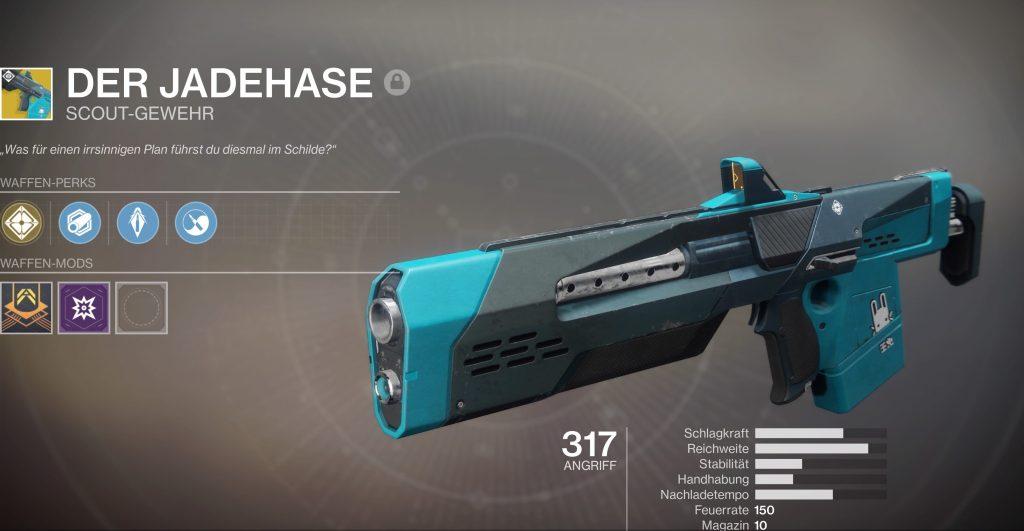 Destiny 2 Jadehase stats