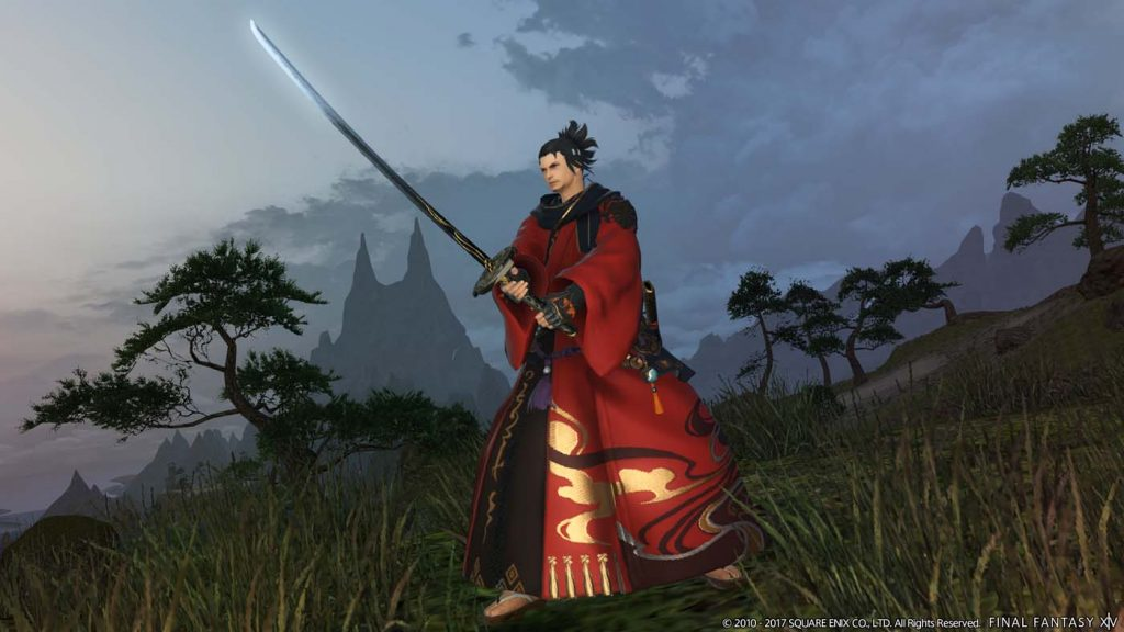 final fantasy xiv stormblood samurai