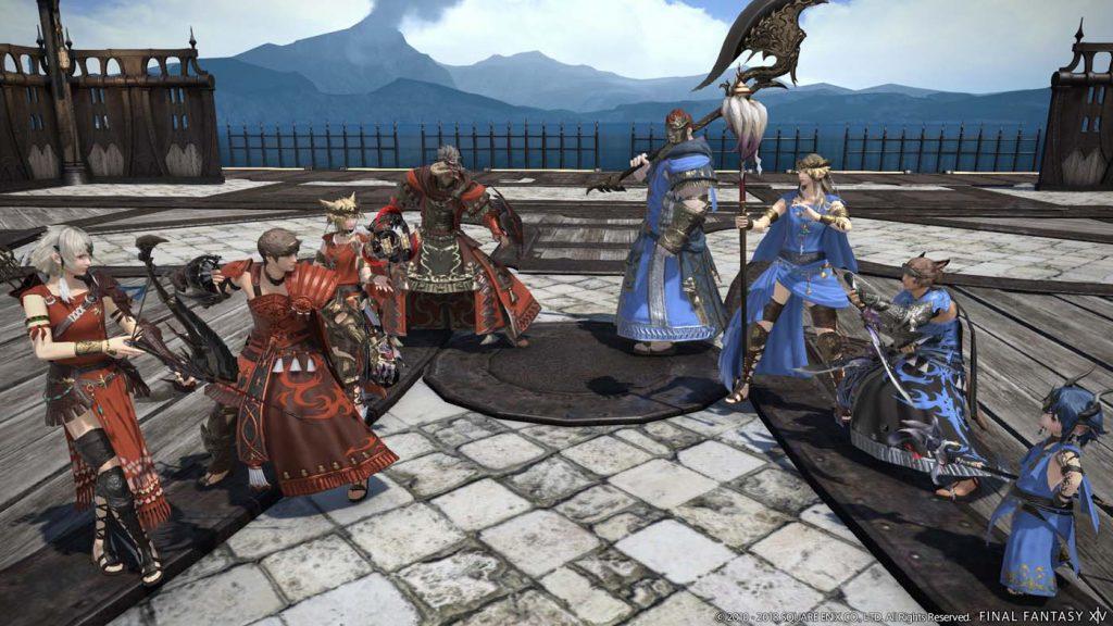 final fantasy xiv feast pvp
