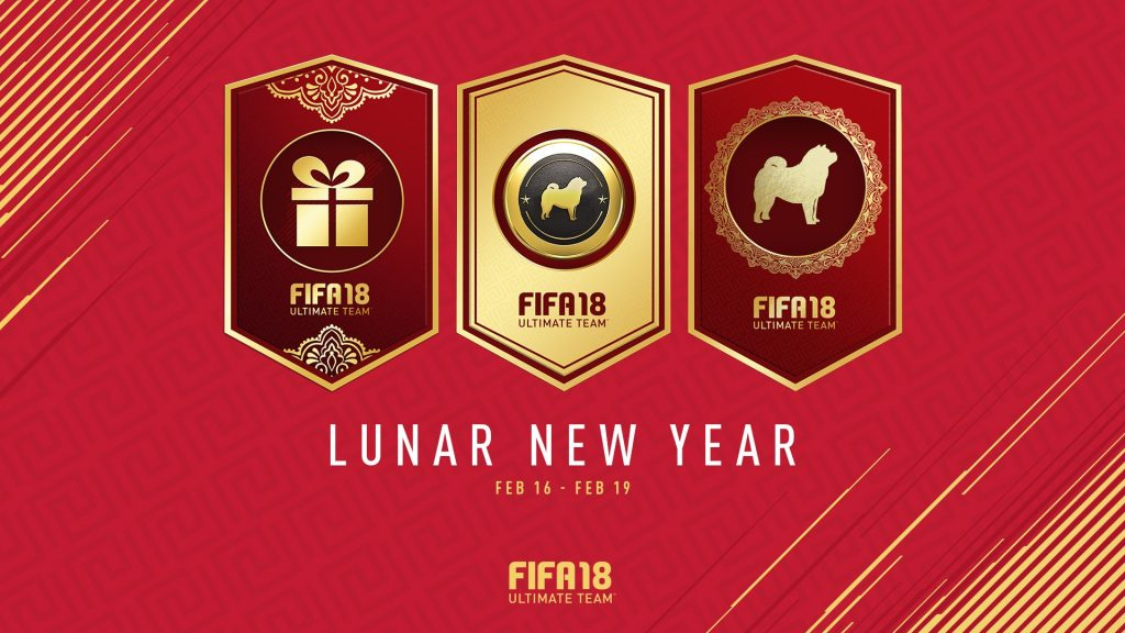 Fifa 18 Lunar New Year Event
