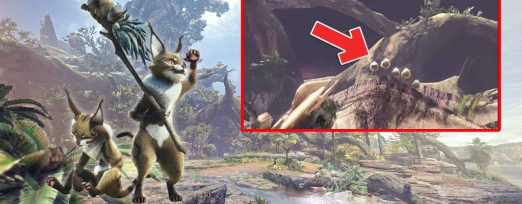 Mit diesen Tricks fangt Ihr das scheue Flauschhuhn in Monster Hunter World