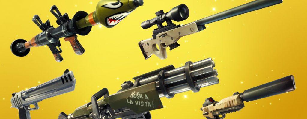 Im neuen Modus Pures Gold bei Fortnite ballert Ihr nur mit Top-Waffen