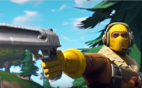 Fortnite-Handkanone