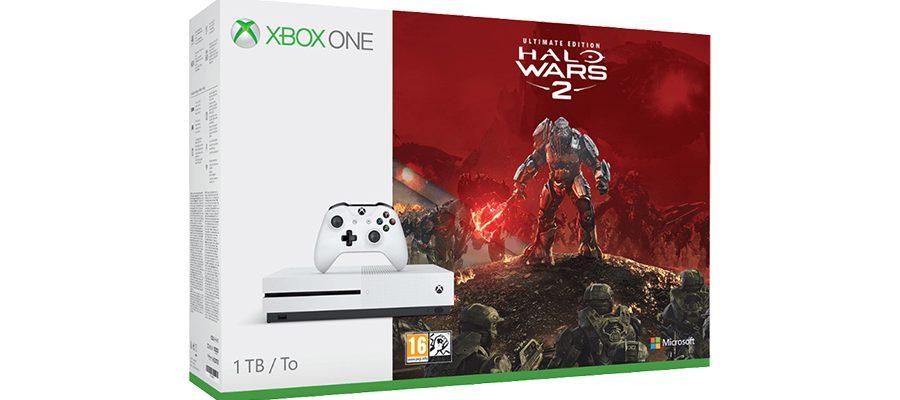 Xbox One S 1 TB – Bundle mit Halo Wars 2 zum neuen Bestpreis