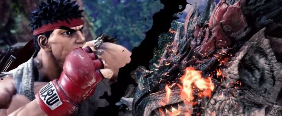 Hadouken! Ryu-Invasion in Monster Hunter World