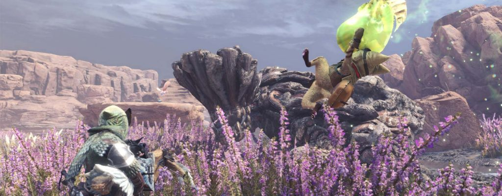 So nutzt Ihr die Umgebung und die Fallen von Monster Hunter World