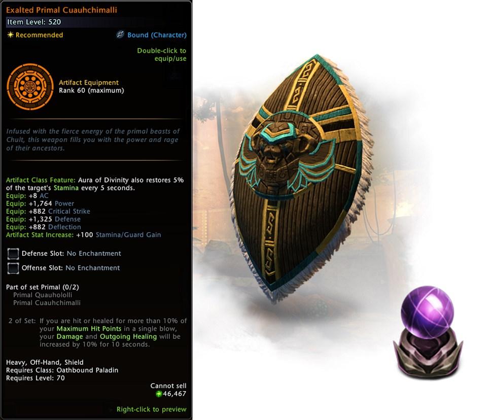 Neverwinter Omu Artefakt 2