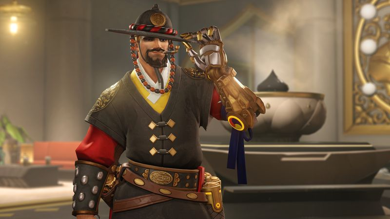 McCree in seinem Lunar New Year Skin