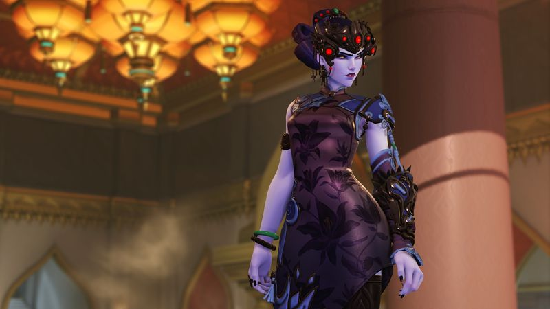 Overwatch LNY Widowmaker