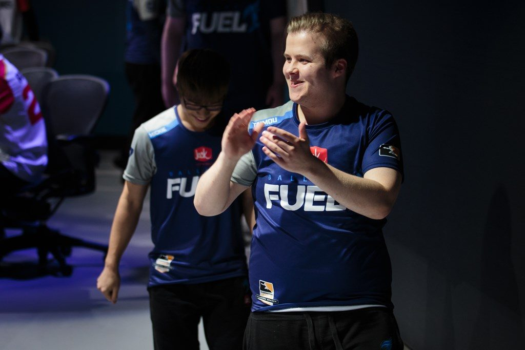 Overwatch League Dallas Fuel Timo Taimou Kettunen clapping