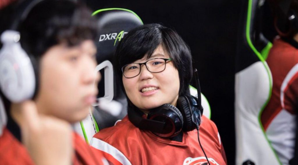 Overwatch League Kim Geguri Se-yeon Shanghai Dragons