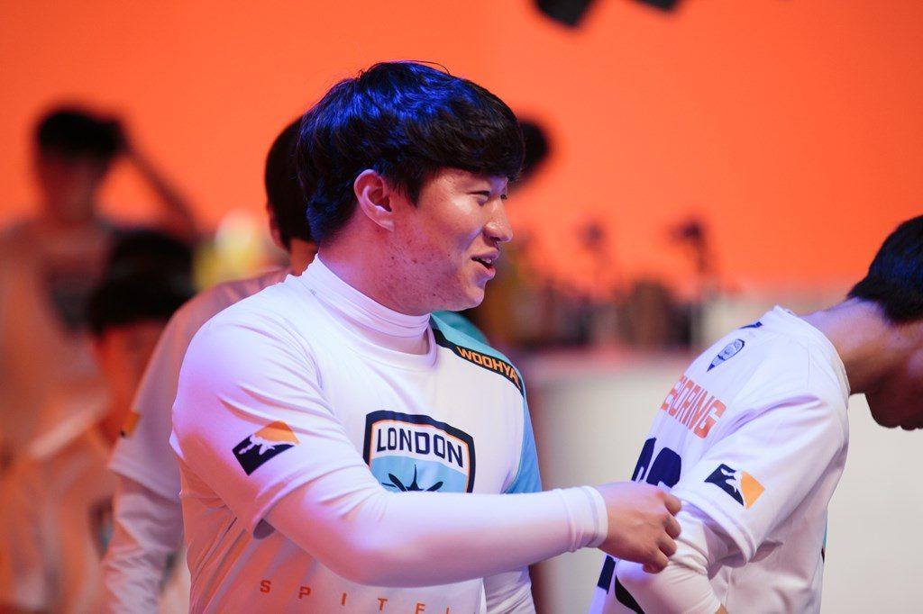 Overwatch League London Spitfire Seung-Hyun WooHyaL Seong