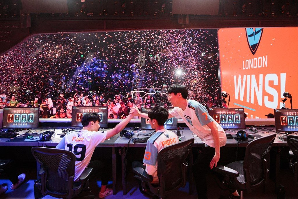 Overwatch League London Spitfire wins finals Stage 1