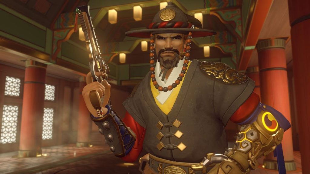 Overwatch McCree Title Lunar New Year