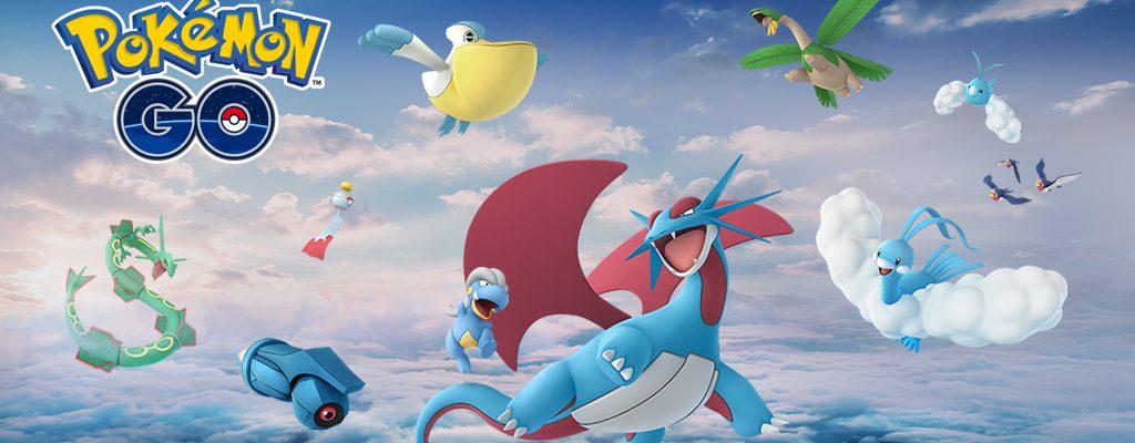 Diese 19 Pokémon der 3. Generation kommen jetzt zu Pokémon GO