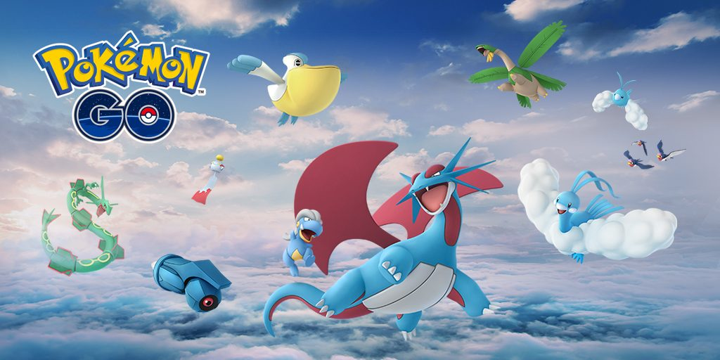 Pokémon GO Hoenn Rayqua