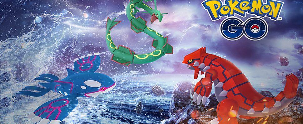 Kyogre und Groudon kehren zu Pokémon GO zurück