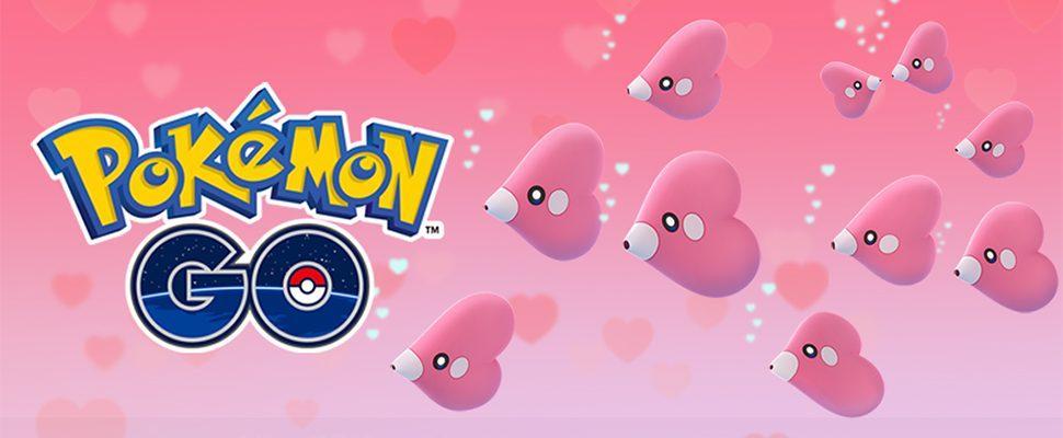 Pokémon GO Valentinstag-Event 2018 bringt Liebiskus-Schwärme und Sternenstaub
