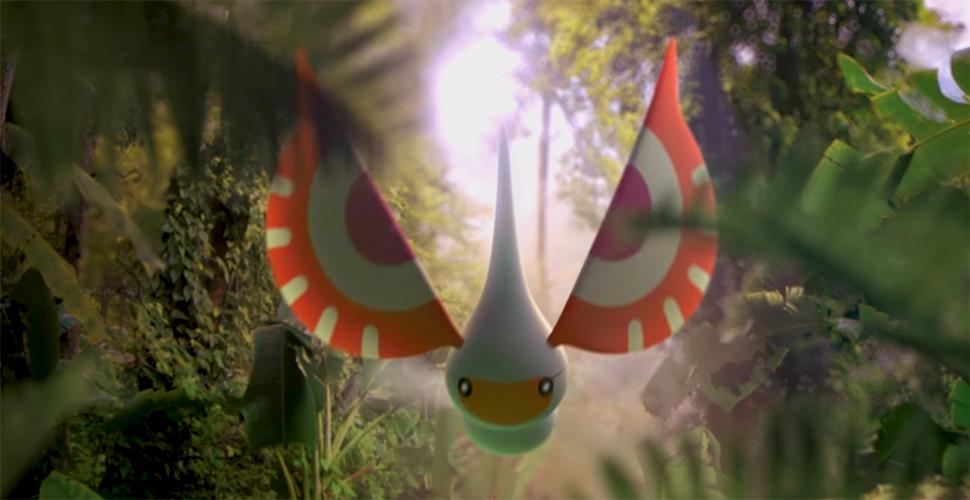 Pokémon GO Maskeregen Titel