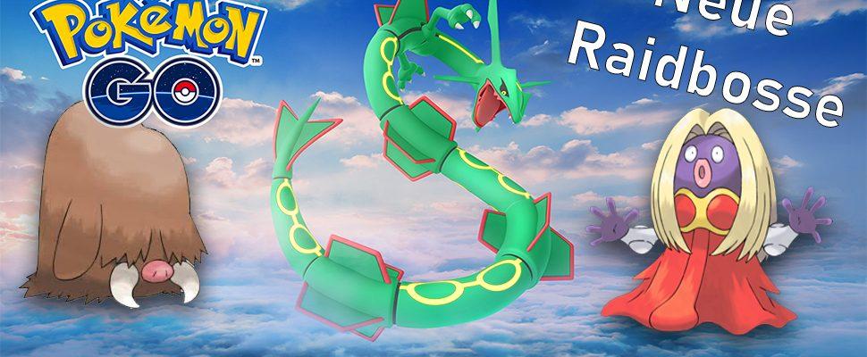 Gegen diese neuen Raidbosse kämpft Ihr jetzt in Pokémon GO