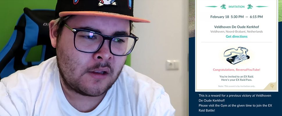 Pokémon GO: Youtuber kriegt endlich EX Raid-Zugang, hat trotzdem Pech