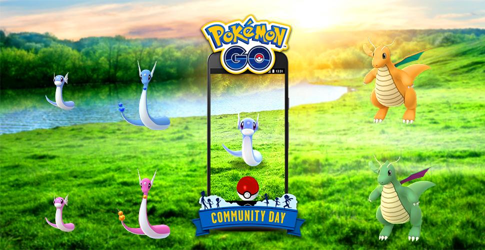 Pokémon GO Shiny Dratini Familie