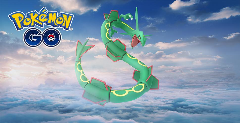 Pokémon GO Rayquaza Titel