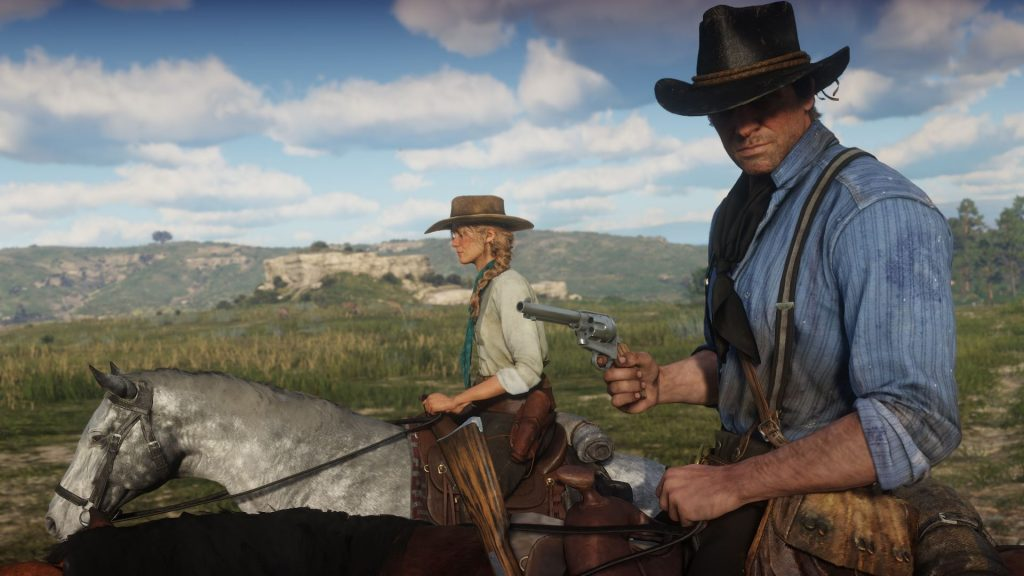Red Dead Redemption 2 mark