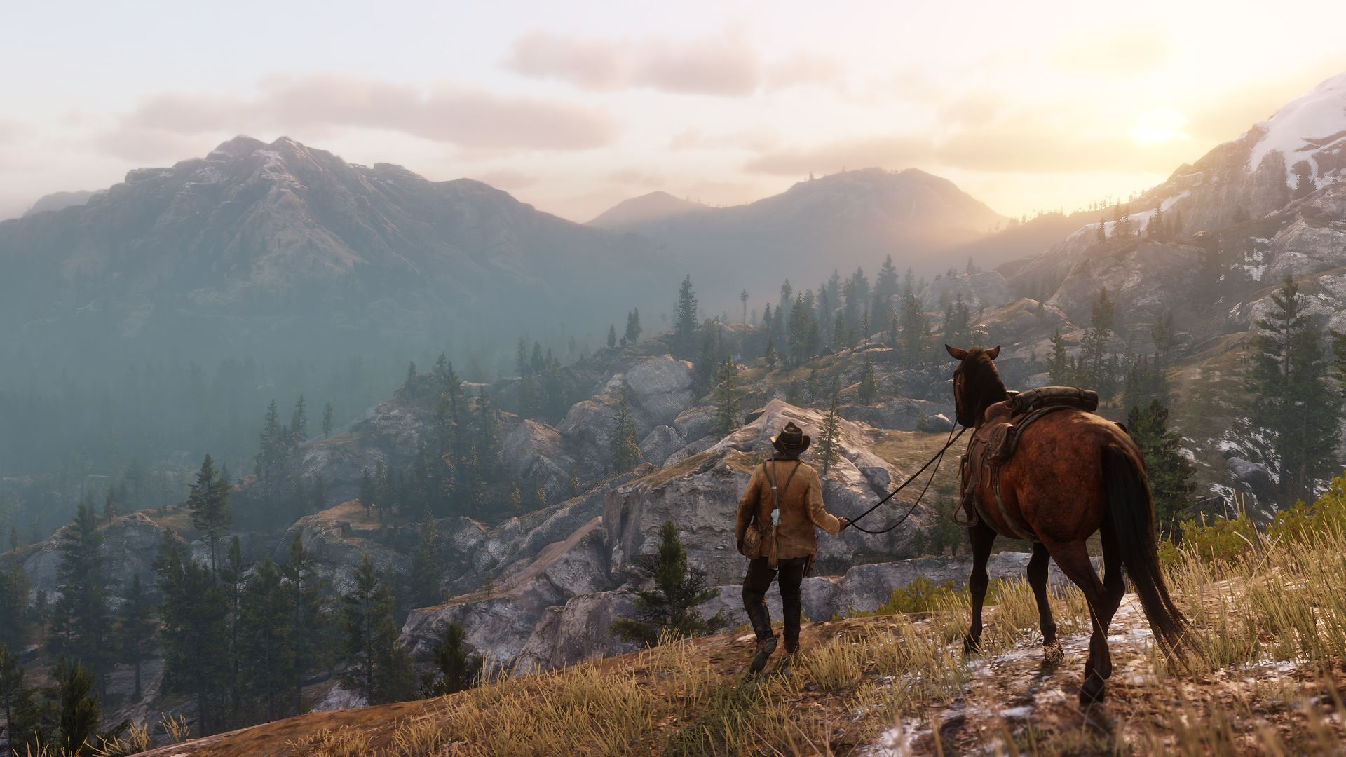 Red Dead Redemption 2 Landschaft