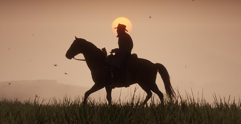 Red Dead Redemption 2 Titel Wiese