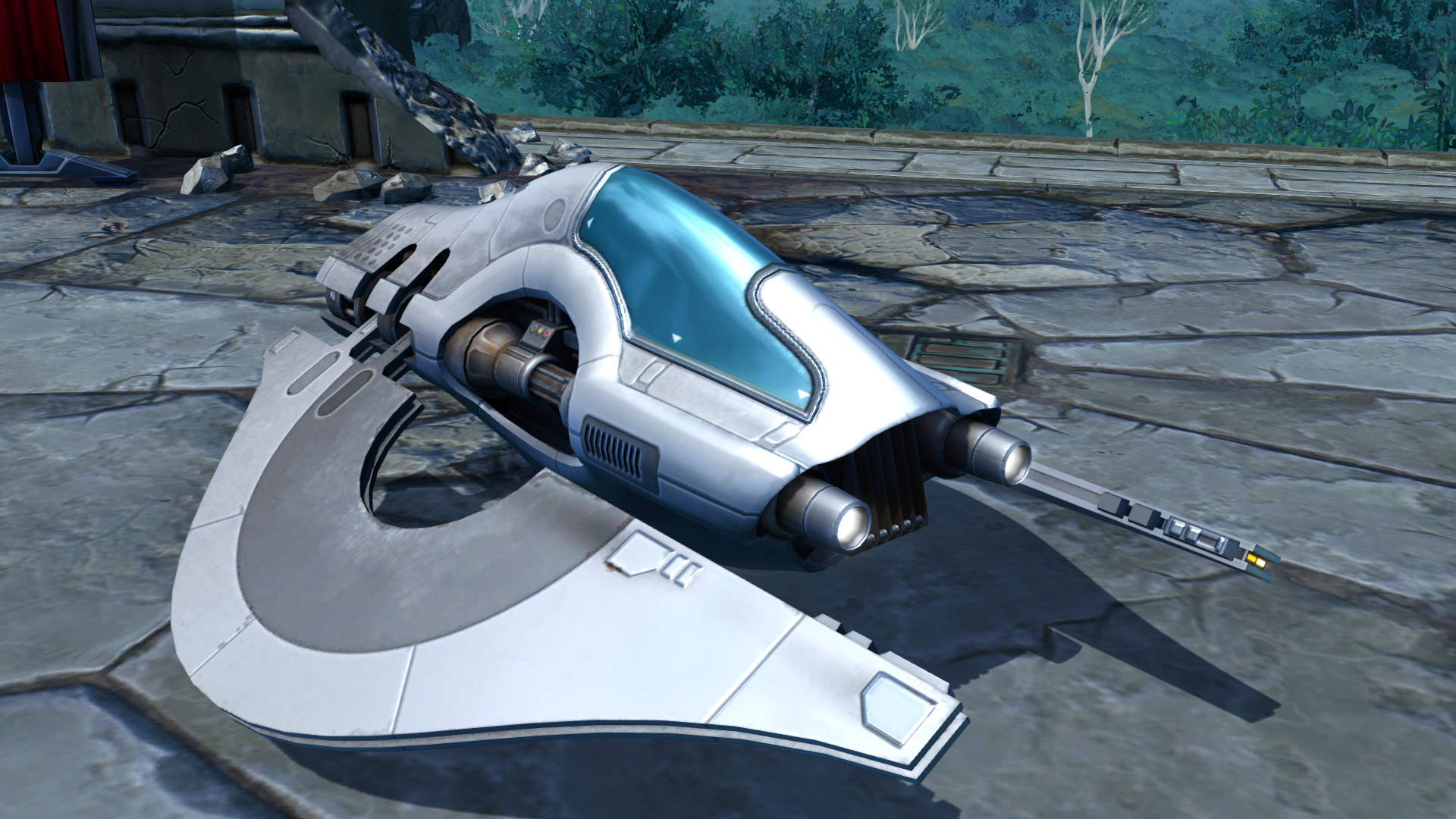 SWTOR Chiss Speeder