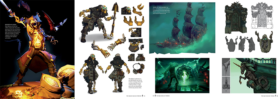 The Art of Sea of Thieves Inhalte