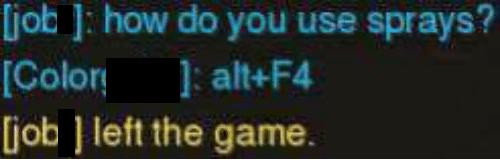 Trolling Alt F4