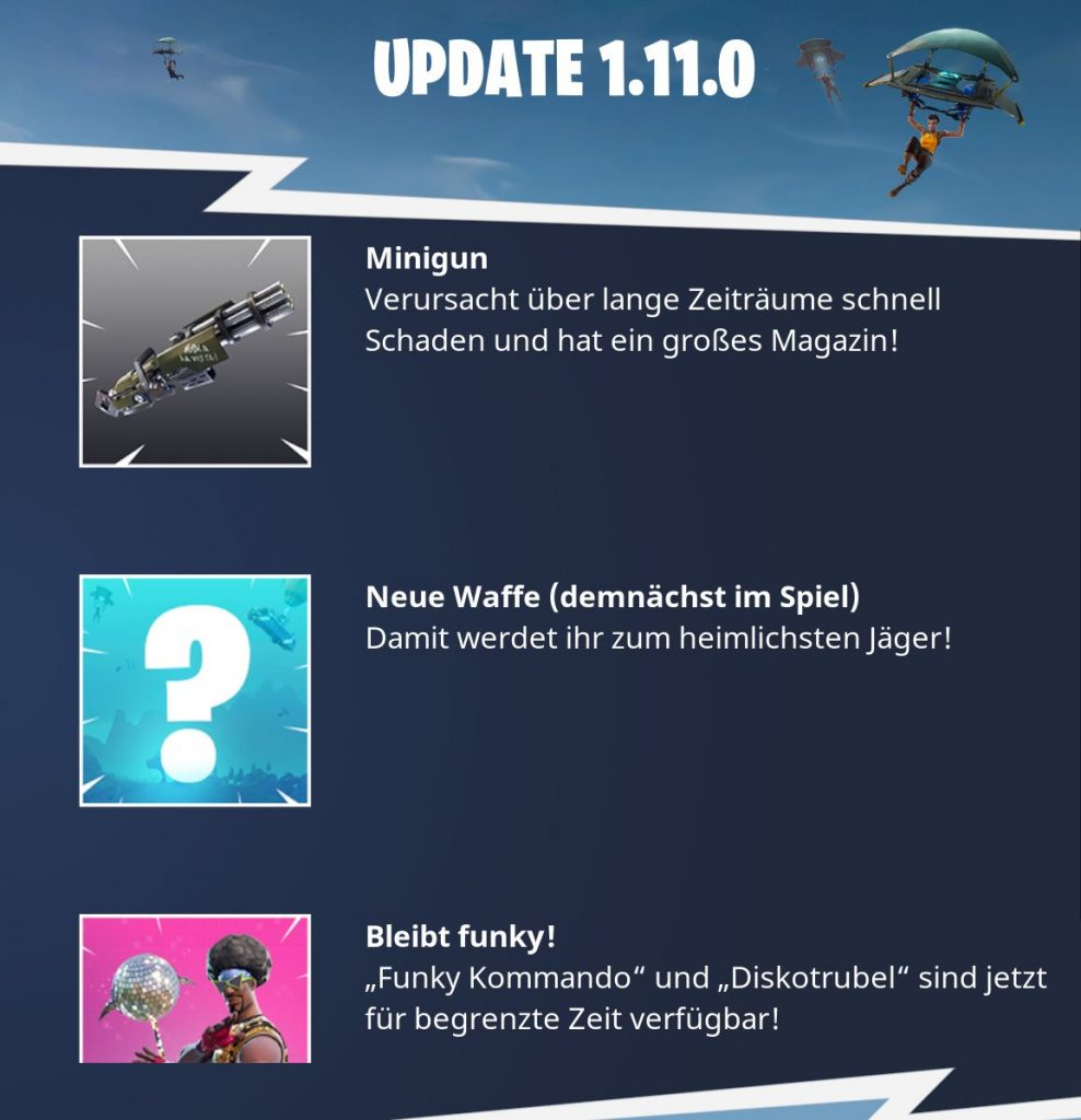 Update-Fortnite