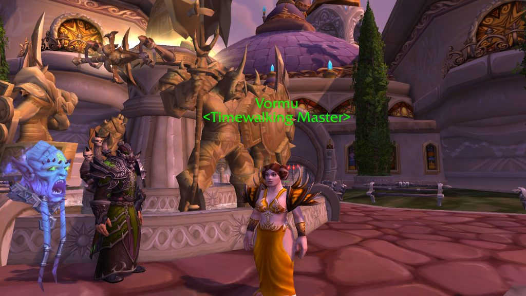 WOrld of Warcraft Ulduar TImewalking Dalaran Zwerg VOrmu