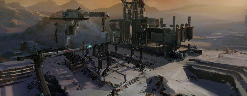 Neue Open-World-Map in Warframe wird eisig & Cyberpunk – erste Bilder
