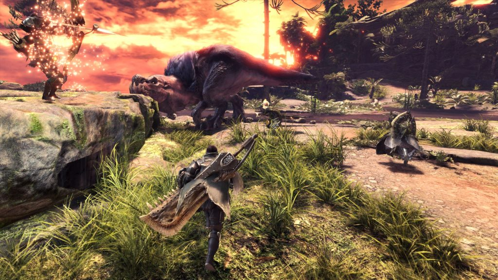 monster hunter world sonnenuntergang