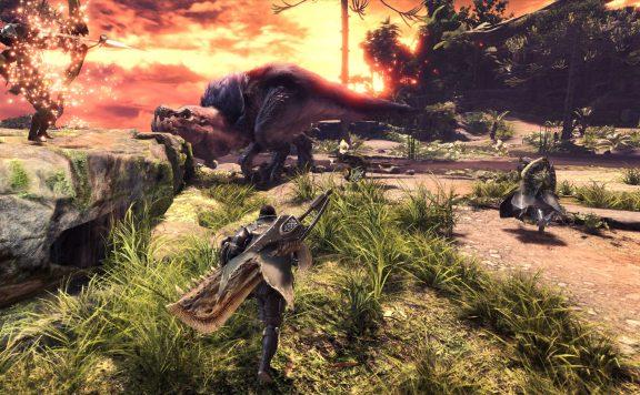 monster hunter world sonnenuntergang