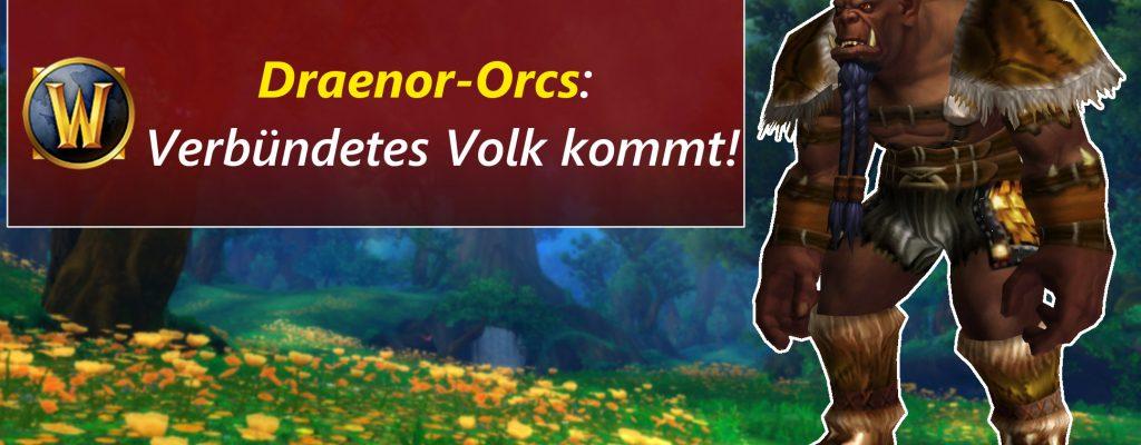 Braun ist das neue Grün – Draenor-Orcs werden Verbündetes Volk in WoW